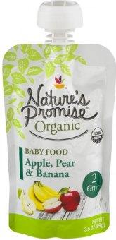 Kapsička ovocná 100% Bio Baby Nature's  Promise