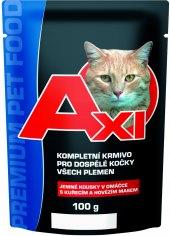 Kapsičky pro kočky Axi