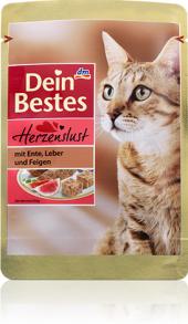 Kapsičky pro kočky Dein Bestes