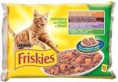 Kapsičky pro kočky Friskies