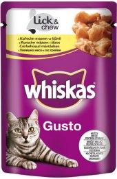 Kapsičky pro kočky Gusto Whiskas