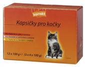 Kapsičky pro kočky Korrekt
