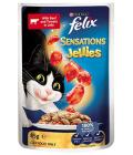 Kapsičky pro kočky Sensations Jellies Felix Purina