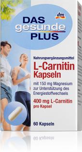 Doplněk stravy L-karnitin + hořčík Das gesunde Plus