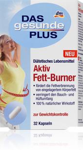 Kapsle na spalování tuků Das gesunde Plus