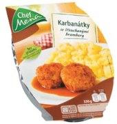 Karbanátky s bramborem Chef Menu