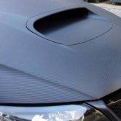 Karbonová fólie na auto Road Star