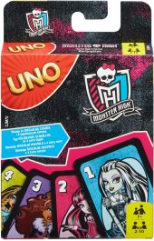Karetní hra Uno Monster High 2 Mattel