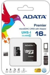 Karta micro SDHC A-DATA 16 GB