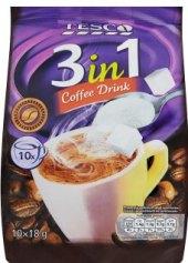 Instantní káva porcovaná 3v1 Tesco