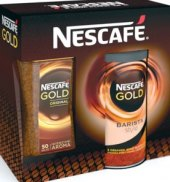 Instantní káva Gold Original + Gold Barista Nescafé