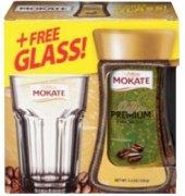 Instantní káva se sklenicí Premium Mokate - dárkové balení