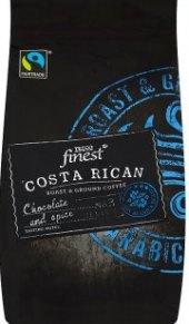 Mletá káva Costa rican Tesco Finest