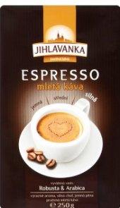 Mletá káva Espresso Jihlavanka