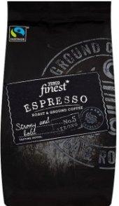 Mletá káva Espresso Tesco Finest