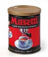 Mletá káva Macinato Musetti