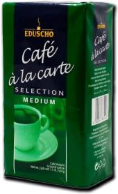 Mletá káva Selection a la Carte Eduscho