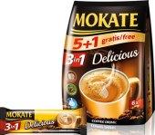 Instantní káva porcovaná 3v1 Delicious Mokate