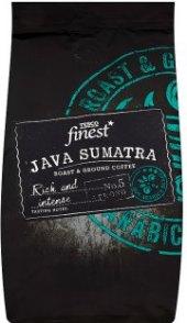 Mletá káva Java Sumatra Tesco Finest