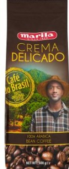 Zrnková káva Crema Delicado Marila