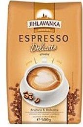 Zrnková káva Jihlavanka Espresso Delicato