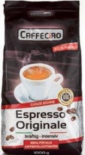 Zrnková káva Espresso Caffeciao