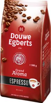 Zrnková káva Douwe Egberts Espresso Grand Aroma