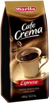 Zrnkové kávy Marilla