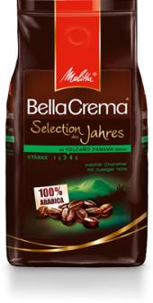 Zrnková káva Selection des Jahres Bella Crema Melitta