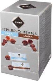 Kávová zrna v čokoládě Rioba