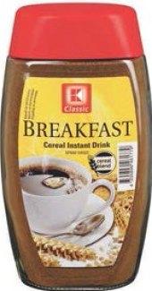 Kávovinový instantní nápoj Breakfast K-Classic