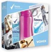 Dárková kazeta dámská se sportovní lahví Rexona