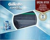 Dárková kazeta pánská Turbo Mach3 Gillette