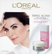 Dárková kazeta proti vráskám Triple Active L'Oréal