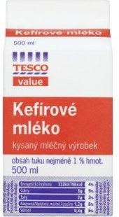 Kefírové mléko Tesco