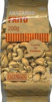 Kešu oříšky pražené Anacardo Frito Hacendado