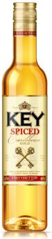 Rum Caribbean Gold Spiced Key