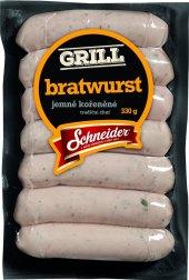 Bílá grilovací klobása bratwurst Schneider