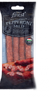 Klobása HU Pepperoni mild Tesco Finest