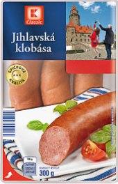 Jihlavská klobása se sýrem K-Classic