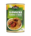 Klobása slovácká s fazolí Hamé - konzerva