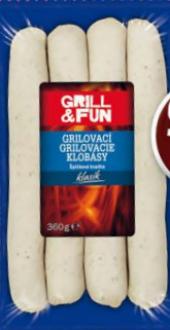 Grilovací klobásky Grill&Fun