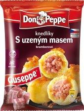 Knedlíky bramborové s uzeným masem mražené Don Peppe