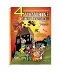 Kniha 4 strašidelné příběhy Čtyřlístku Lamková, Němeček, Krajčovič