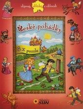 Kniha České pohádky s puzzle