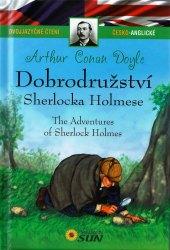 Kniha Dobrodružství Sherlocka Holmce - dvojjazyčné čtení Arthur Conan Doyle