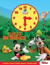Kniha Mickeyho klubík – Kolik je hodin? Walt Disney