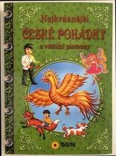 Kniha Nejkrásnější české pohádky s většími písmeny