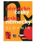 Kniha Německo český česko německý slovník se základy gramatiky