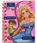 Kniha Pohádky a hry o princeznách Popelka/Pinocchio